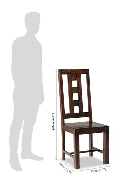 Solid Wood Romeo Chair B