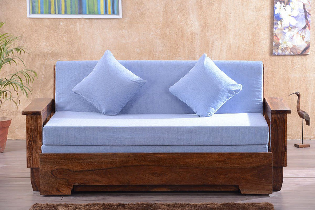 Solid Wood Jodhpur Sofa cum Bed