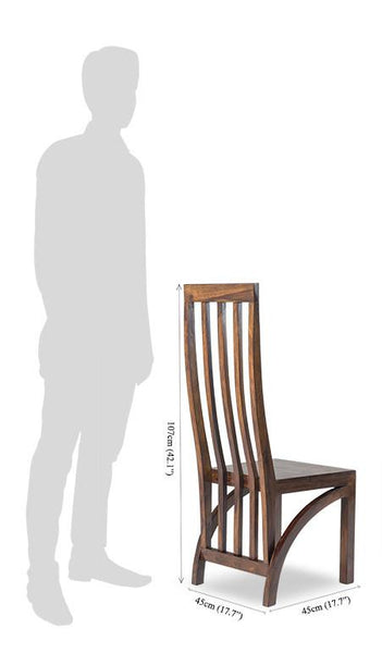 Solid Wood Romeo Ang Chair