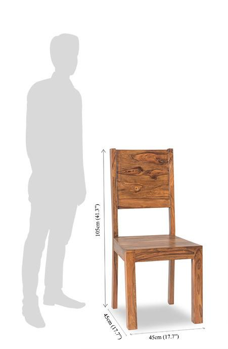 Solid Wood Romeo Chair D