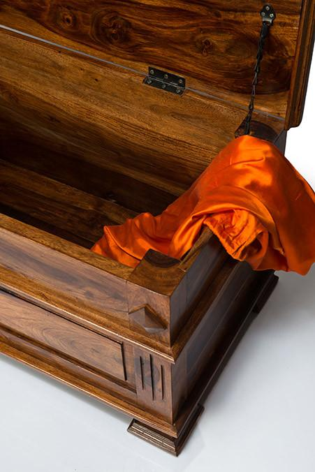 Solid Wood Maharaja Blanket Box