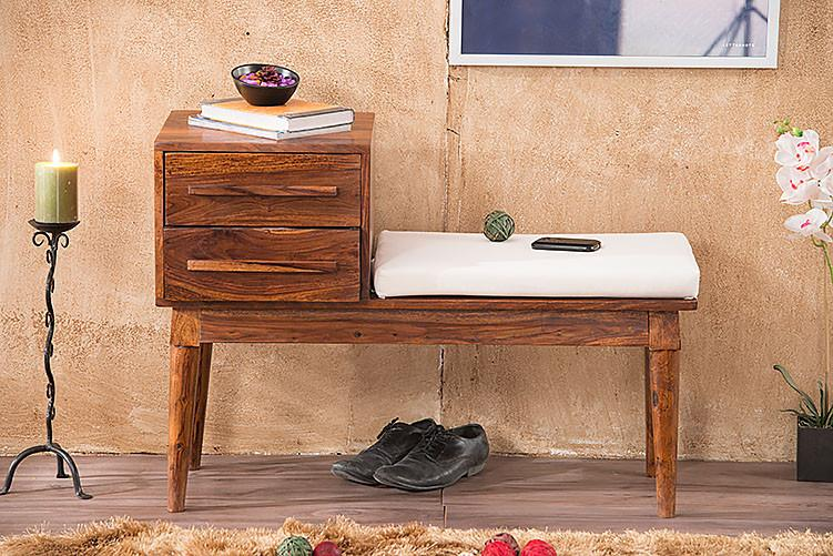 Solid Wood Eva Sethi Shoe Rack