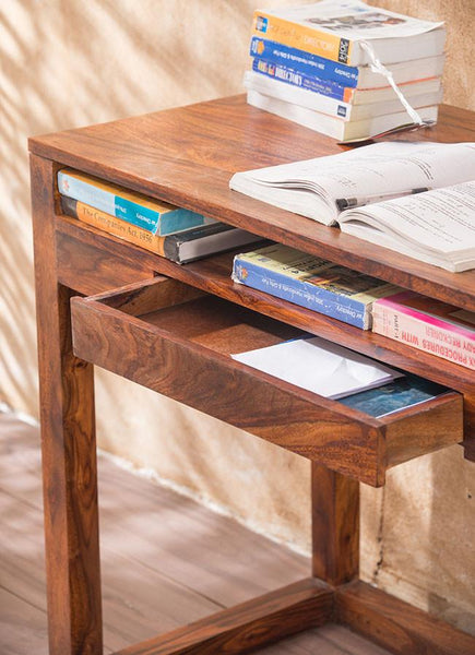Solid Wood Cubex Writing / Study Table