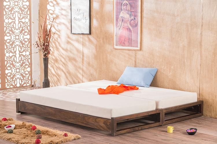 Solid Wood Durban Sofa cum Bed