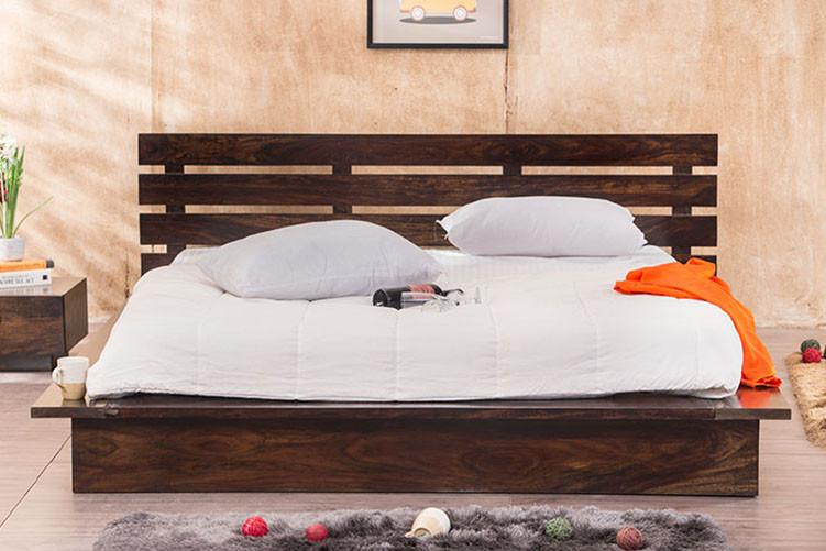 Solid Wood Franco Platform Bed