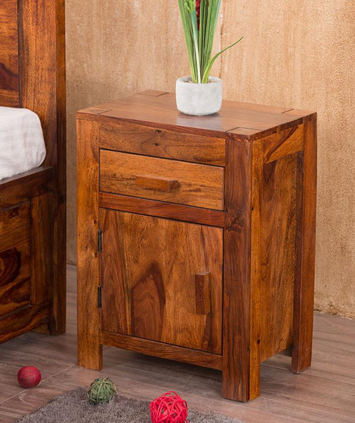 Solid Wood Depot Bedside Table