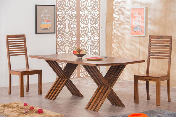 Solid Wood Leh Dining Set