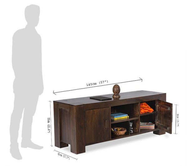 Solid Wood Romeo TV unit