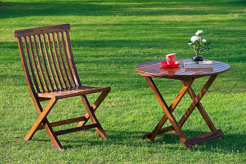 Solid Wood Classic GARDEN TABLE