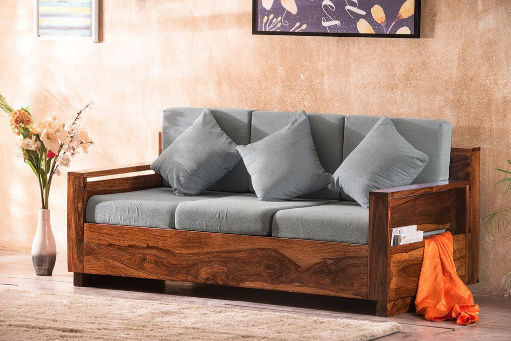 Solid Wood Dalton Sofa Set