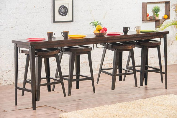 Solid Wood INDIANA Breakfast Dining Table