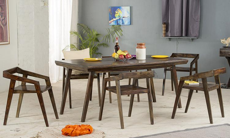 Solid Wood Buck Dining Set