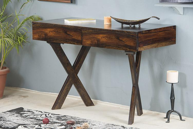 Solid Wood Sheesham Study table - Walnut Finish