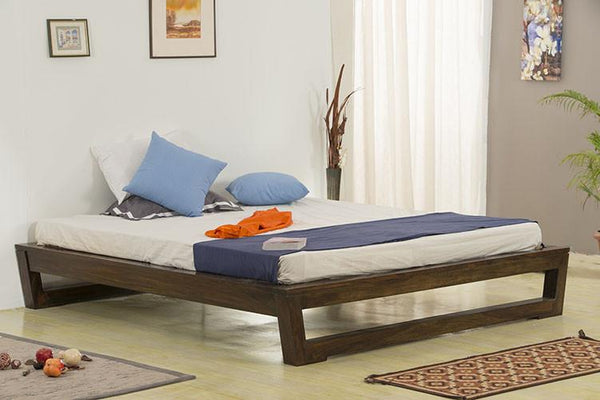 Solid Wood Cubex Deewan Bed