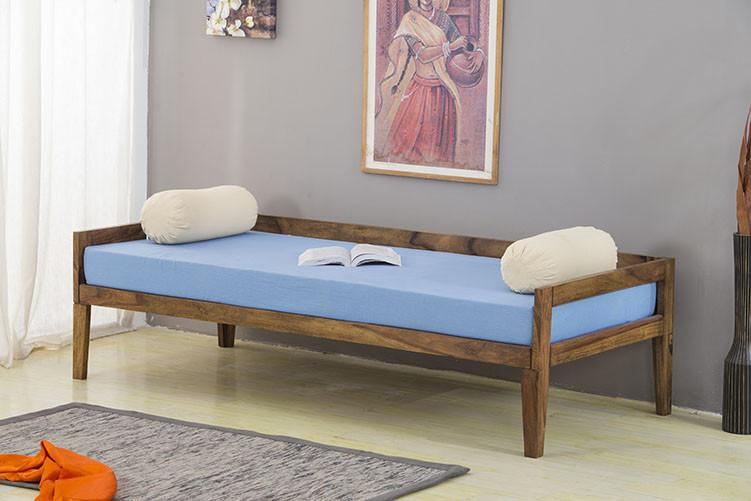 Buy Solid Wood Charlie Deewan Sofa Bed Online In India