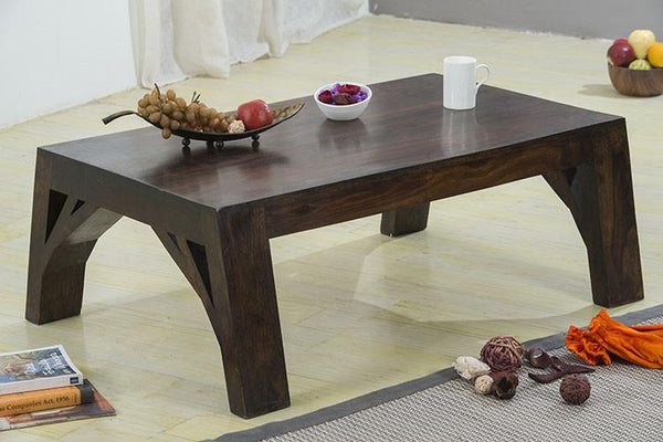 Solid Wood Frozen Coffee Table