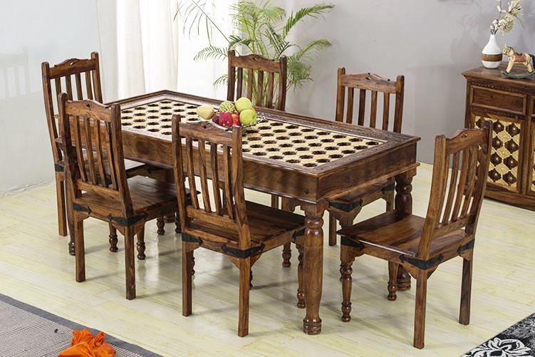 Dining Table: Buy Wooden Dining Table Set Online - Best ...