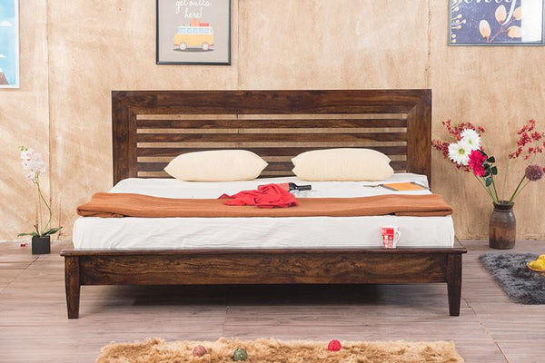 Solid Wood Elate Bed