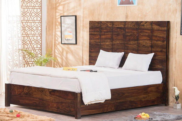 Solid Wood LORD Bed with Storage