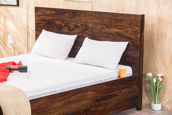 Solid Wood Bolt Bed with Storage