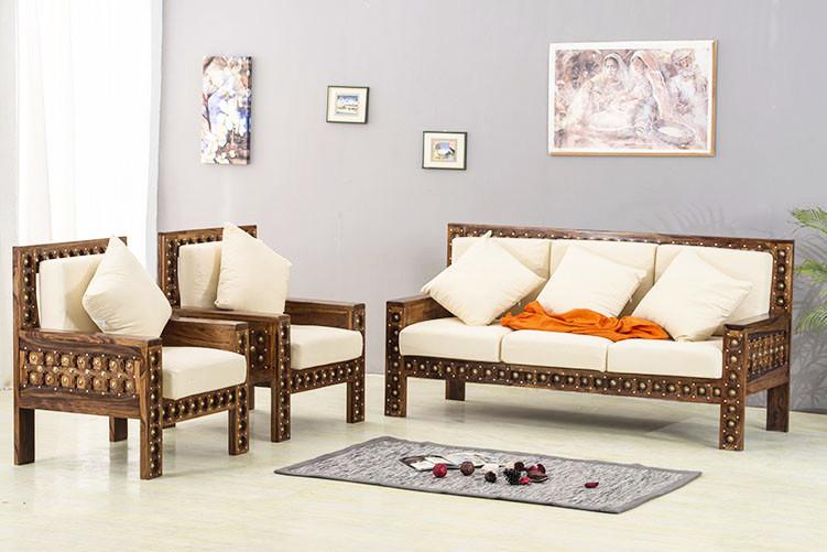 Brass Sofa Set Solid Wood Furniture Online Buy Sofa Online