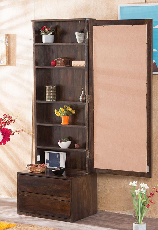 Buy Solid Wood Cube Dressing Almirah Online New Launches