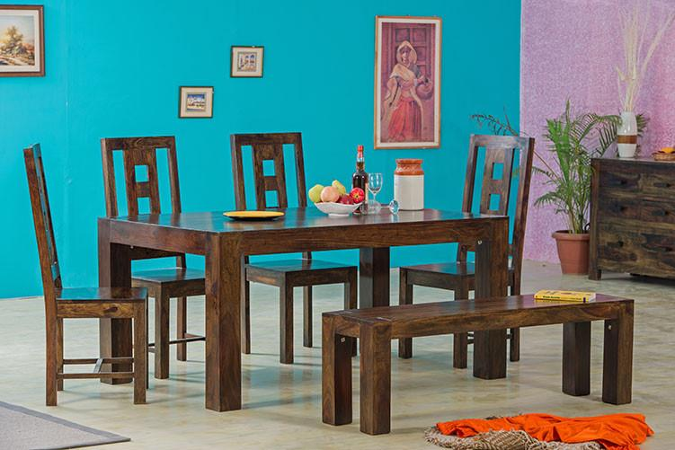 Solid Wood Romeo Dining Set B