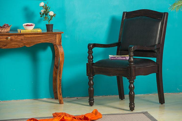 Solid Wood Jaipur Easy Chair