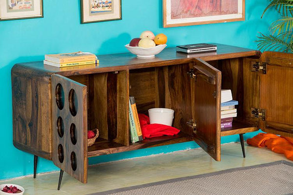 Solid Wood Clarion Tv Unit Sideboard