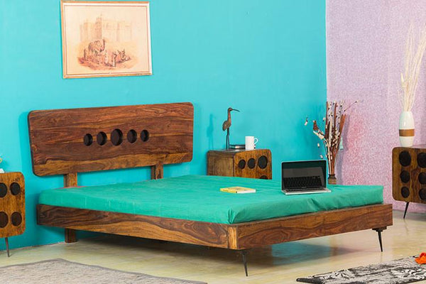 Solid Wood Clarion Bed