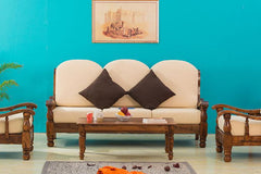 Solid Wood Maharaja Sofa Set