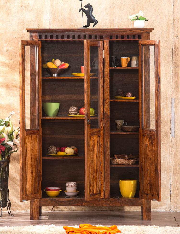 Solid Wood Kuber Kitchen Cabinet Grand