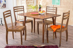 Solid Wood Eva Dining Set
