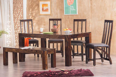Solid Wood Romeo Dining Set D