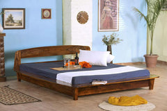 Solid Wood Baker Platform Bed