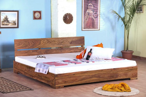 Solid Wood Capital Mini Bed