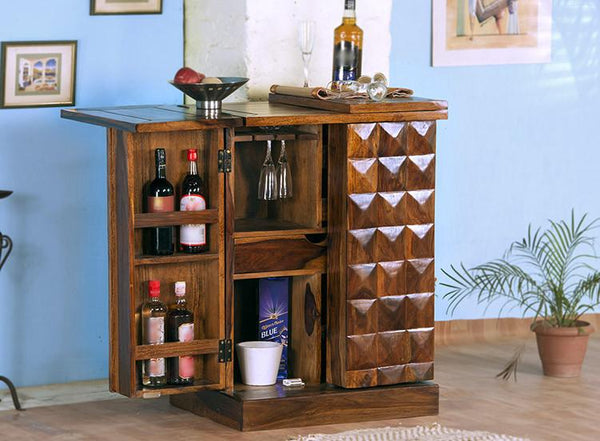 Solid Wood Bowley Bar