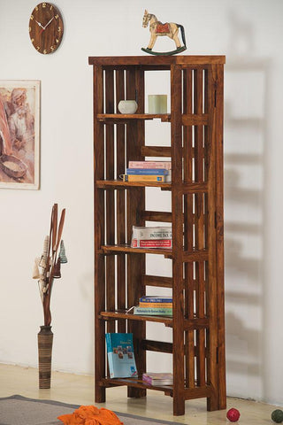 Solid Wood Turner Bookcase