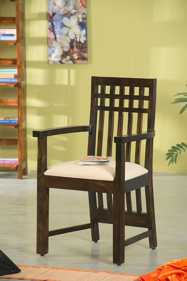 Solid Wood Kuber Easy Chair