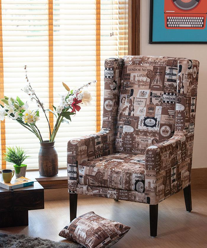 Set of 2 Europea Jack Wing Chair