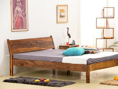 Solid Wood Slant Bed