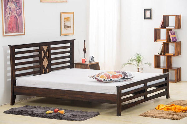 Solid Wood Y Contrast Bed