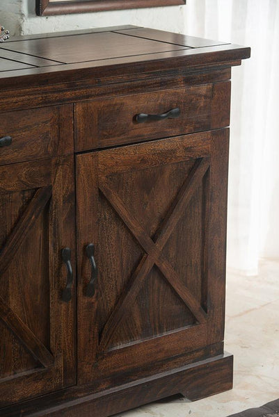 Solid Wood Crossia Kitchen Cabinet Grand