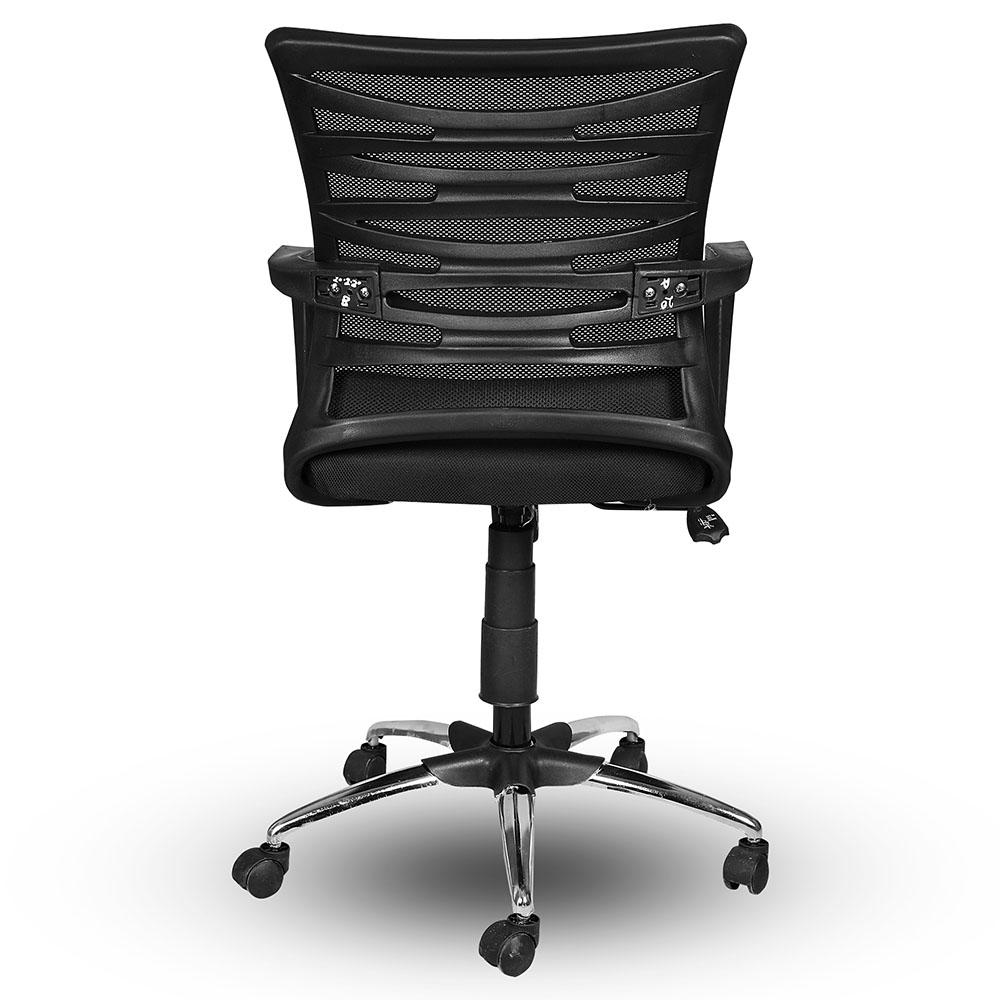 Trisca Revolving & Height Adjustable Ergonomic Office Chair with Pushback Tilt
