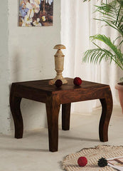 Solid Wood Tania Lamp Table