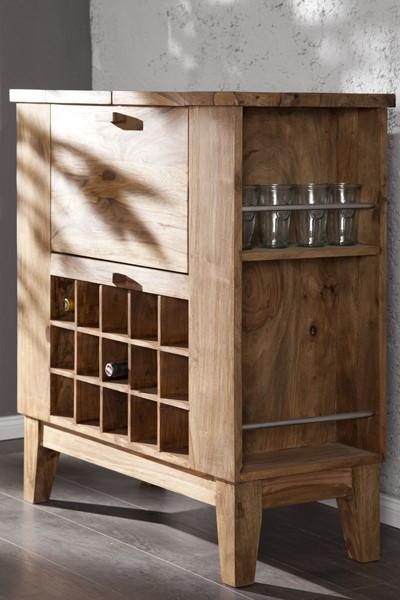 Sheesham Solid Wood Durban Bar