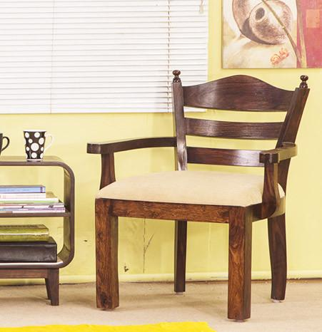 Solid Wood Easy Chair