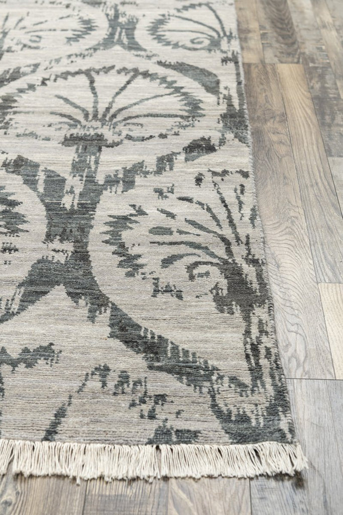 Luxury - Sinclaire Grey New Neland Wool Hand Knotted Premium Carpet