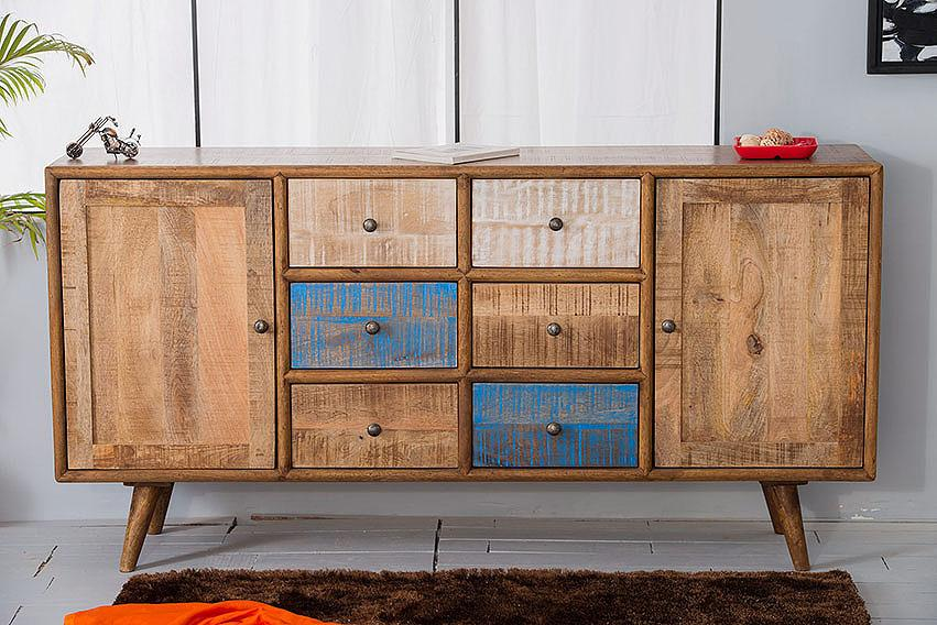 Buy Solid Wood Country Eva Sideboard Online New Launch Tv Units