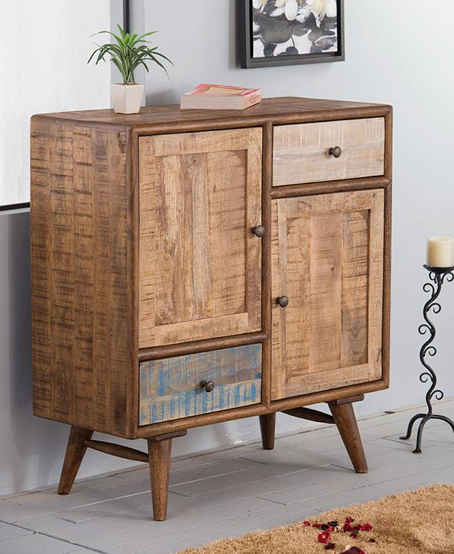 Solid Wood Country EVA Hall Cabinet